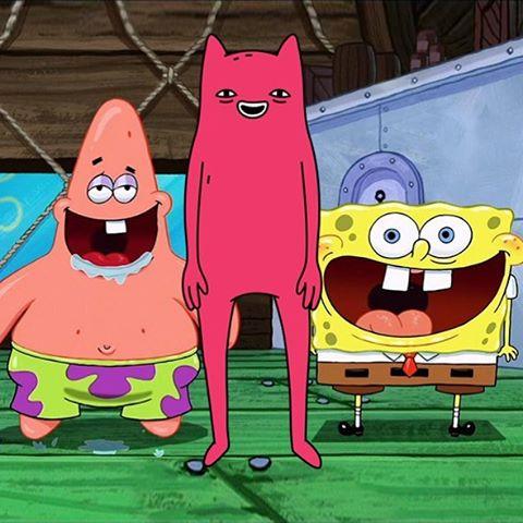 Spongebob, Abel and Patrick
