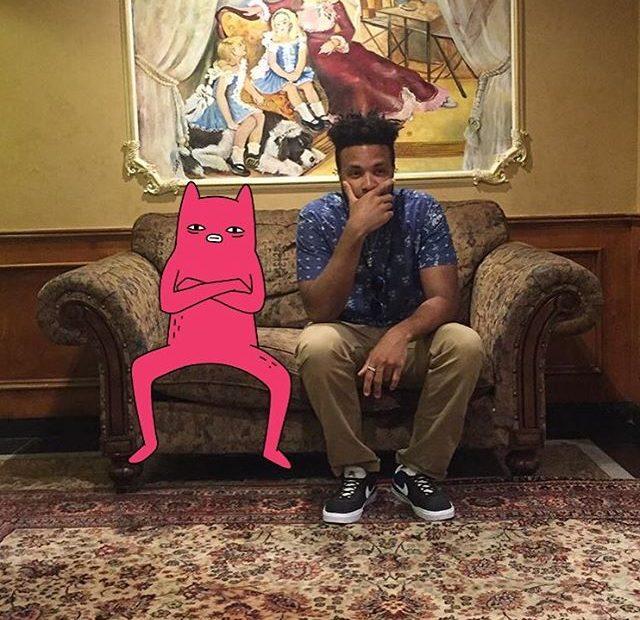 Abel hanging with Rodney Hazard