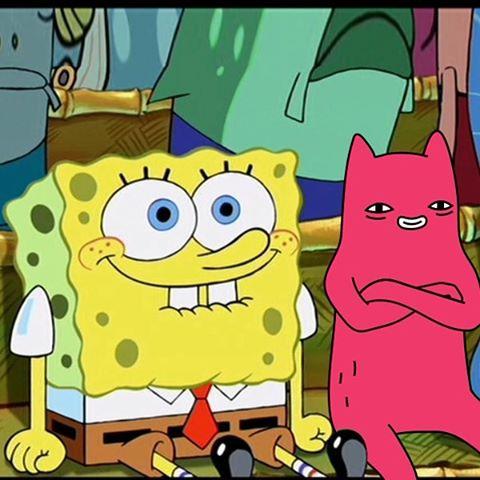 Abel and Spongebob under the sea
