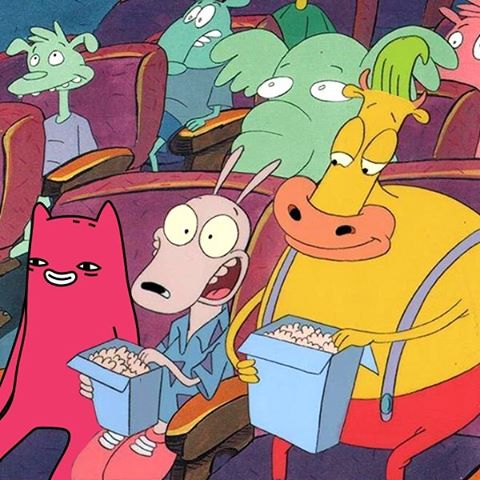 Sunday movies with Abel and Rocko's Modern Life gang