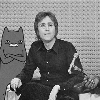 Abel and John Lennon