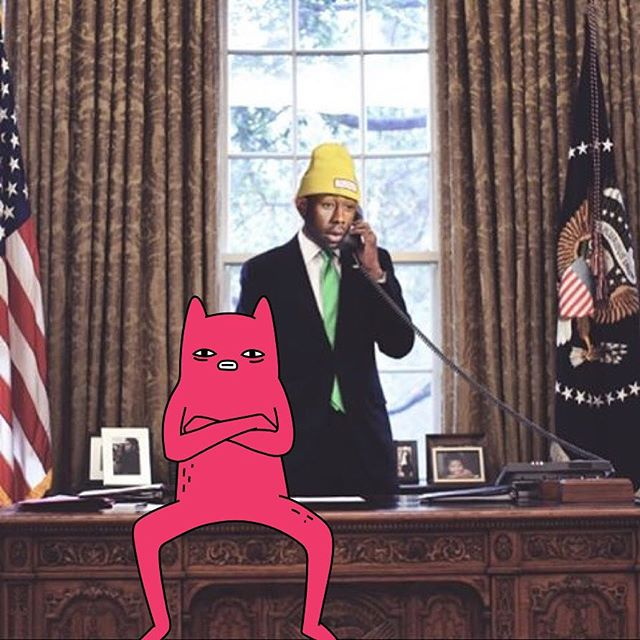 Tyler and Abel are taking over the White House